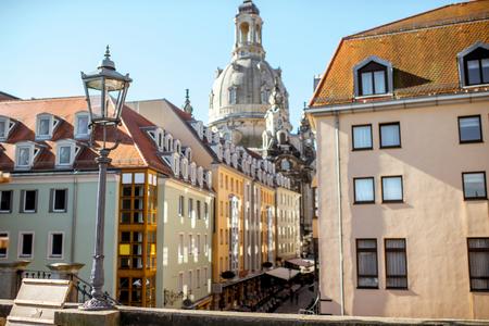 Dresden Stadt in Deutschland Standard-Bild - 82339696