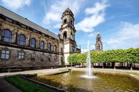 Dresden Stadt in Deutschland Standard-Bild - 82855744