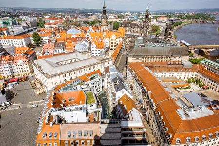 Dresden Stadt in Deutschland Standard-Bild - 85307627