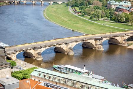 Dresden Stadt in Deutschland Standard-Bild - 84780417