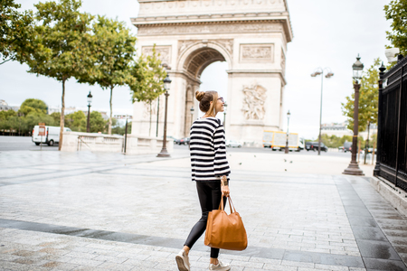 パリのビジネスの女性 写真素材