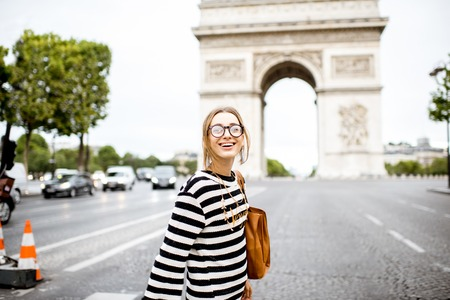 Business woman in Paris Stock Photo - 84612419