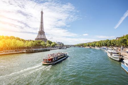 Landschapsmening van Parijs