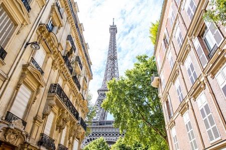 Cityscape view of Paris