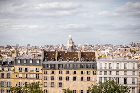 Cityscape view of Paris