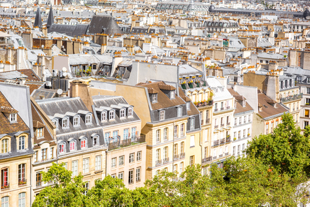 Cityscape view of Paris Stock fotó - 85101170