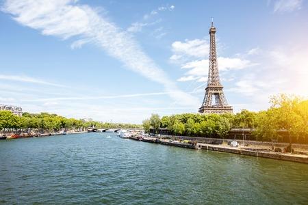 パリの街並みの景色 写真素材
