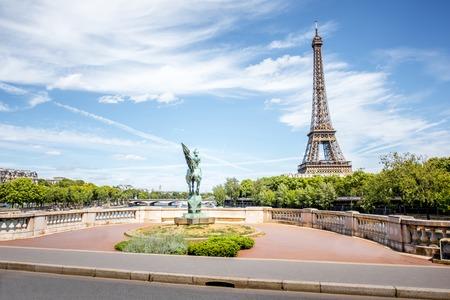 Cityscape uitzicht op Parijs