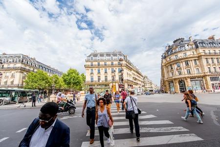Cityscape view in Paris