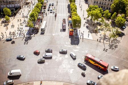 Road in Paris