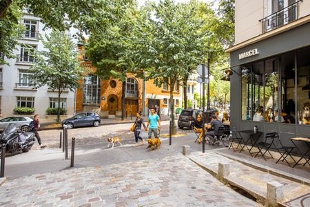 Streete-Ansicht in Paris