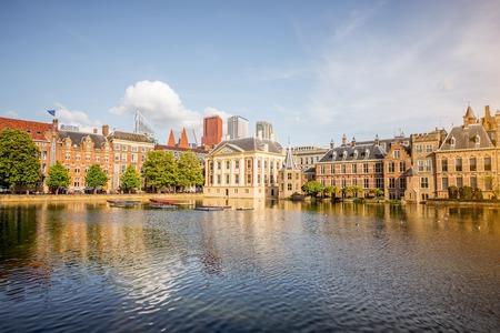 Haag stad in Nederland Stockfoto
