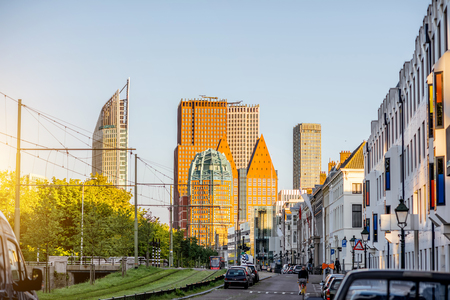 the hague: Haag city in Netherland