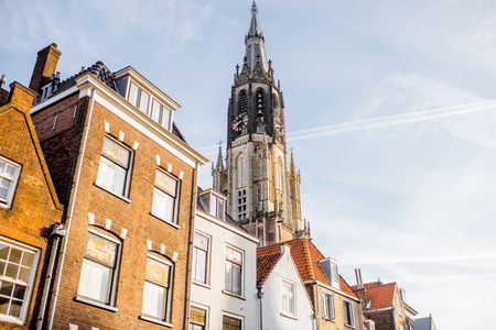 Delft city in Netherland