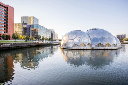 Rotterdam city in Netherlands Editorial