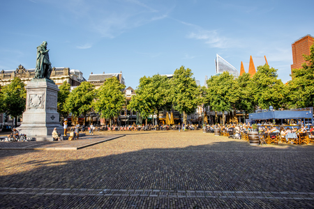 Haag city in Netherlands