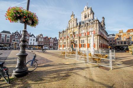 Delft city in Netherland Фото со стока - 85430666
