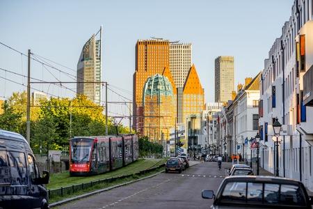 オランダのハーグ市 報道画像