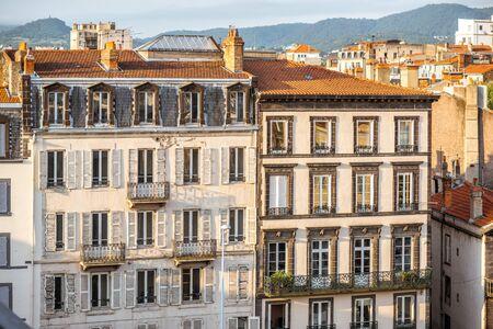 Clermont-Ferrand stad in Frankrijk