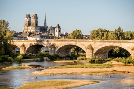 Orleans city in France Stock Photo - 85415770