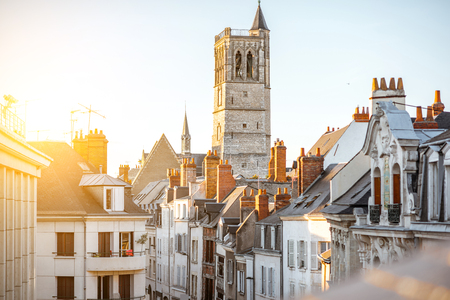 Orleans city in France Stock Photo