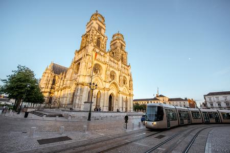フランスのオルレアン市 写真素材