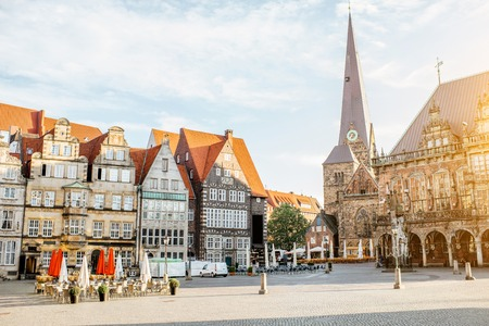 Bremen city in Germany Stock Photo