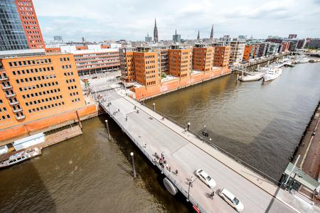 Hamburg city in Germany 版權商用圖片