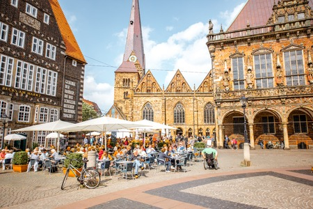 Bremen city in Germany Editorial