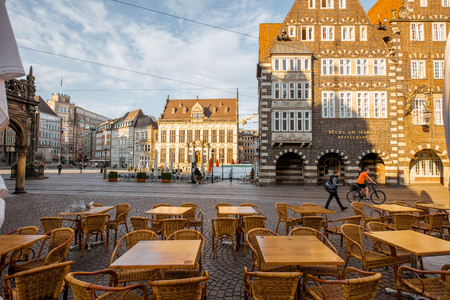 Bremen city in Germany Editorial