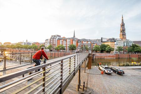 Hamburg city in Germany Editorial