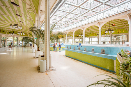 Thermal pump-room in Vichy Stock Photo - 85598433
