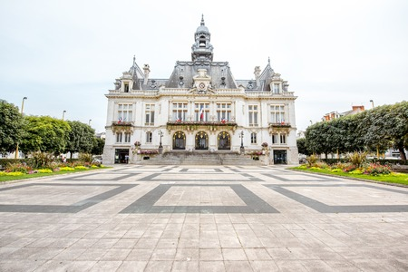 Gebouwen in de stad Vichy, Frankrijk