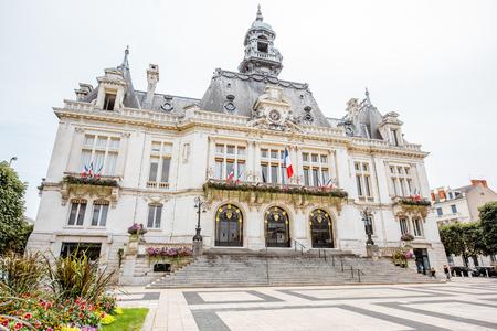 Buildings in Vichy city , France Redakční