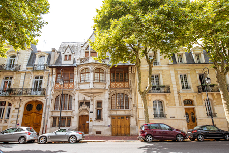 Buildings in Vichy city , France Stock Photo - 85598444