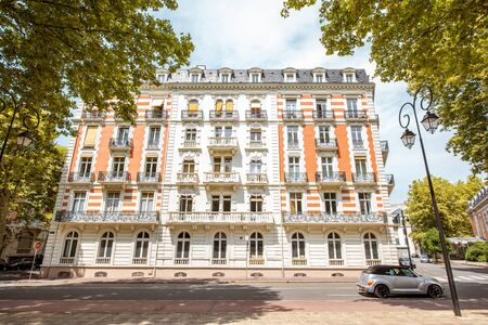 Buildings in Vichy city , France Stock Photo - 85598443