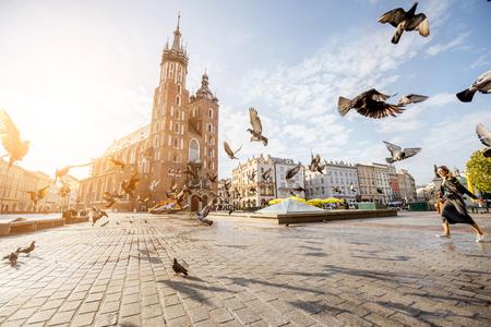 ポーランドのクラクフ市 写真素材