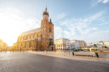 Krakow city in Poland 版權商用圖片 - 85659539