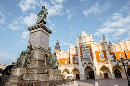 Krakow city in Poland Фото со стока
