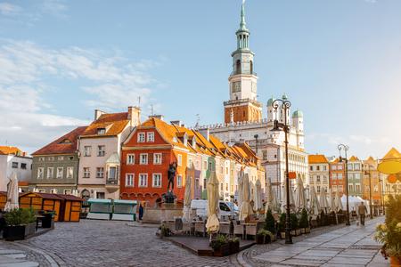 Poznan city in Krakow Фото со стока