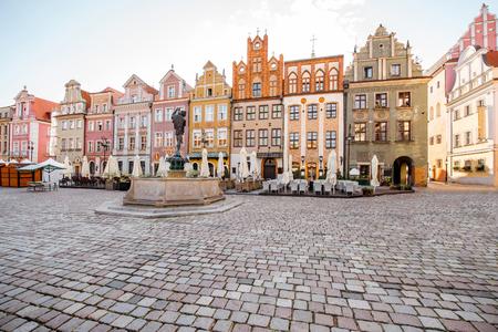 Poznan city in Krakow 免版税图像