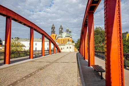 De stad van Poznan in Krakau Stockfoto