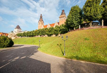 Szczecin stad in Polen