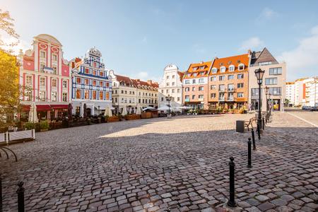 ポーランドのシュチェチン市 写真素材 - 85704226
