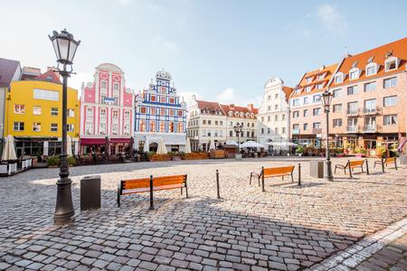 ポーランドのシュチェチン市 写真素材