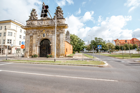 ポーランドのシュチェシン市 写真素材 - 85703510