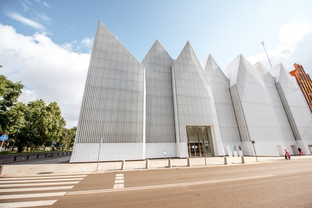 Philharmonic building in Szczecin city