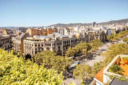 바르셀로나 시내 전망