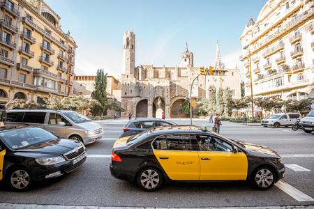 Old town of Barcelona Reklamní fotografie - 87317236