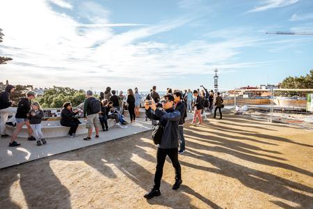 バルセロナのグエル公園